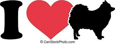 I love Pomeranian icon