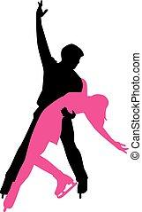 Ice Dancing Couple