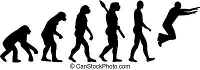 evolução,  parkour