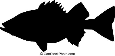 Perch silhouette