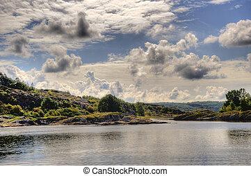 Skerry Landscape of Flatoen, Sweden - In the Skerry...