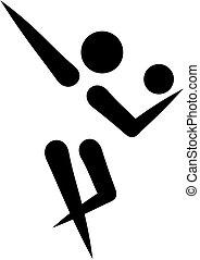 Rhythmic gymnastics icon