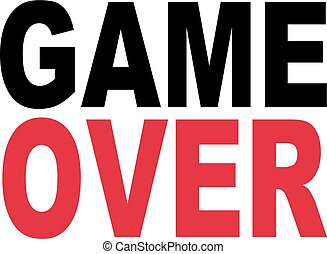 Game over slogan