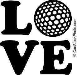 Golf Love Ball