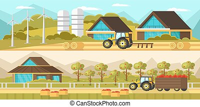 Agricultural Horizontal Banners - Agricultural horizontal...