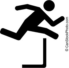 Hurdles pictogram
