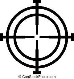 Crosshair hunter reticle