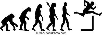 Evolution hurdling