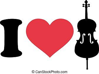 I love cello icon