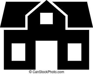 House villa home icon