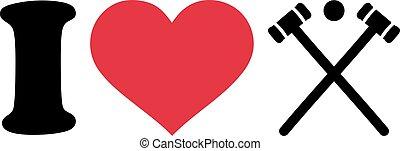 I heart Croquet