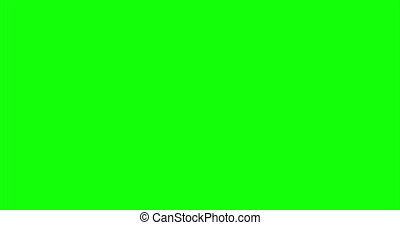 Blood Burst Slow Motion (Green Screen) 176 - Nice and real...