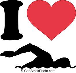 I love Swimmer