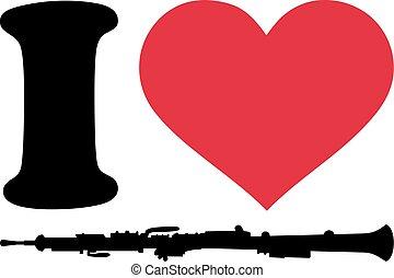 雙簧管, 愛, 圖象