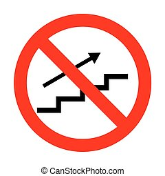 No Stair with arrow.