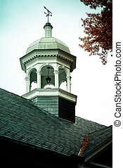 Cupola on top of old building.