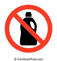 No Plastic bottle for cleaning.