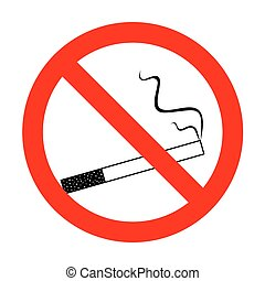 No Smoke icon great for any use.