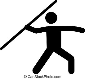 Javelin pictogram