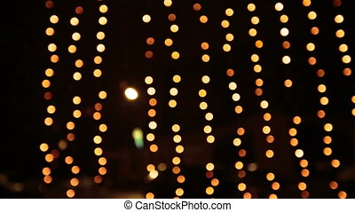 Yellow Christmas Lights - Yellow gold Christmas Lights....