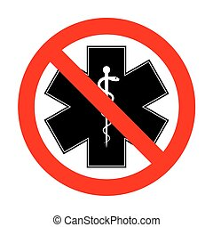 No Medical symbol of the Emergency or Star of Life.