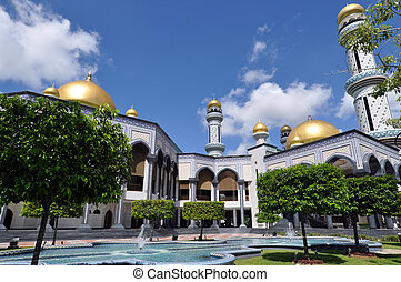 Mosque in Brunei - JameAsr Hassanil Bolkiah Mosque in Brunei...
