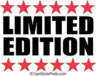 Limited edition with red stars