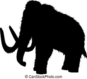 Mammoth silhouette