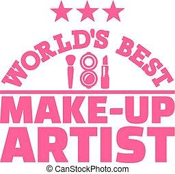 World's best make-up artist