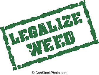 Legalize weed stamp