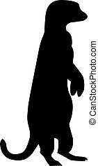 Meerkat Silhouette