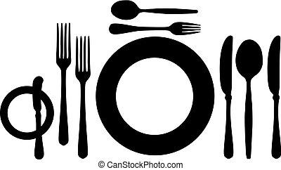 Big table setting