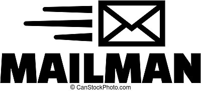 Mailman with fast letter