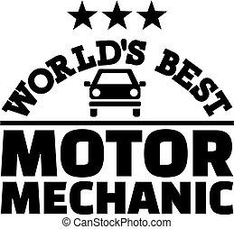 World's best motor mechanic
