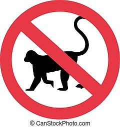 Monkeys forbidden