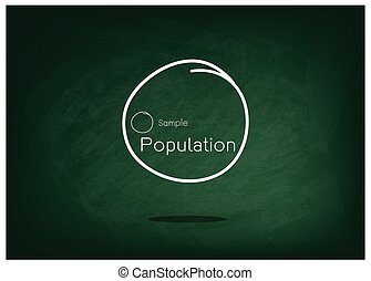 Set of Research Process Sampling from A Target Population -...