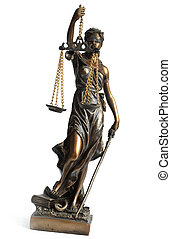 Themis - Antique Statue of justice