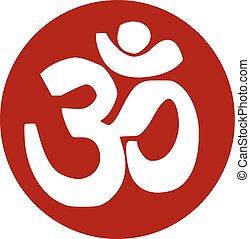 Om sanskrit icon