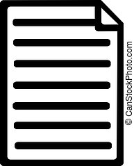 Notes paper icon