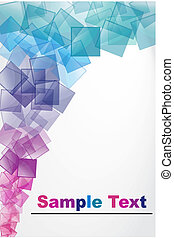 abstract vector background - illustration of vector...