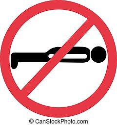 Planking forbidden
