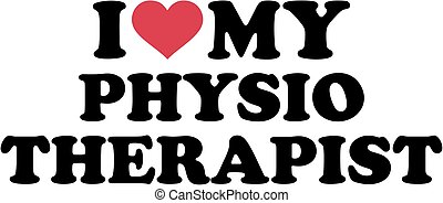I love my physiotherapist