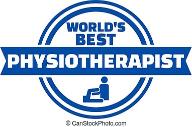 World's best Physiotherapist button