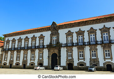 Episcopal Palace in Porto, Portugal. - Episcopal Palace...