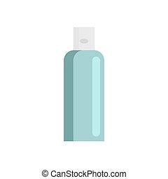 Cream tube isolated. tuba Cosmetics on white background