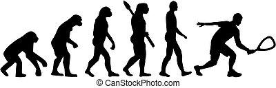 Evolución,  Racquetball