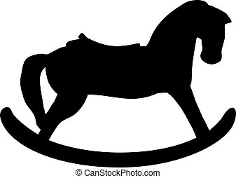 Rocking Horse silhouette
