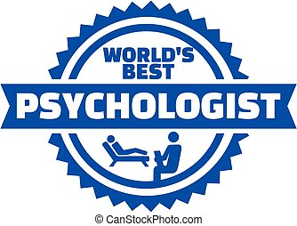 World's best Psychologist button
