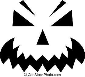 Pumpkin face - Jack o Lantern