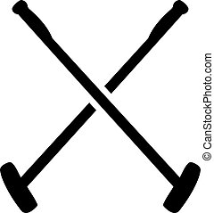 Polo Mallets Icons